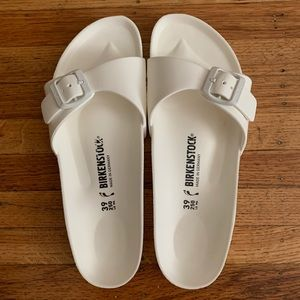 Birkenstock Madrid EVA one strap sandals white 39